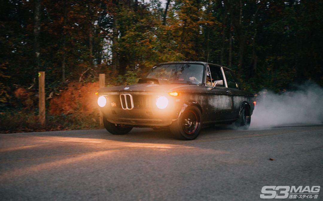 rat rod BMW 2002
