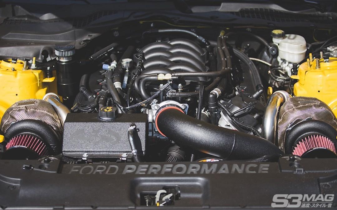Coyote 5.0 Mustang twin turbo