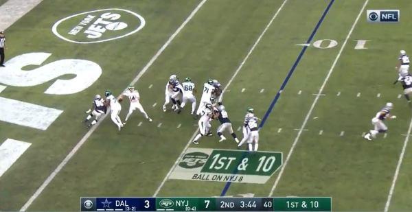 Sam Darnold unleashes 92-yard touchdown pass