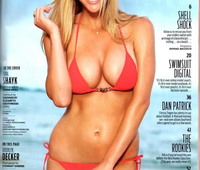 Brooklyn Decker Is An Absolute Smokestack It Doesnt Get Any Better Than Her When It Comes To Si Models Imnsho Look At The Attached Picture