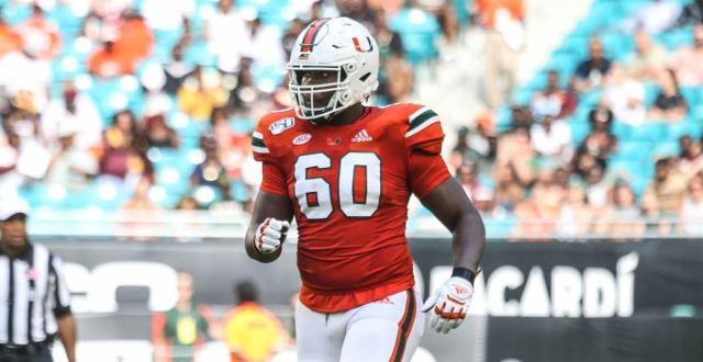 Zion Nelson, Miami, Offensive Tackle - Future Stars