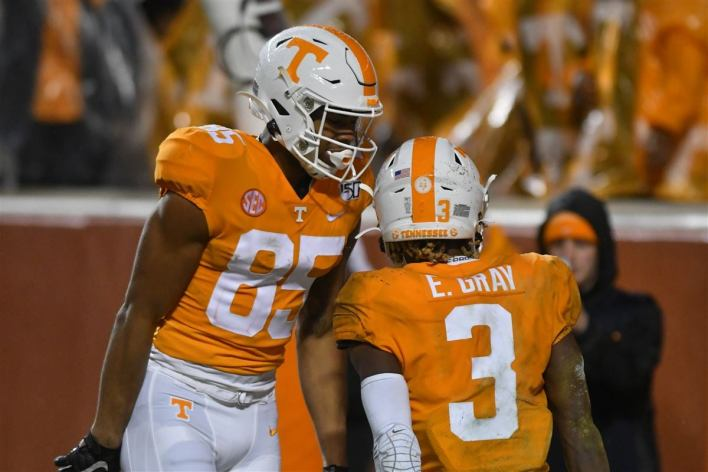 Tracking Tennessee's uniform changes over the last 10 years