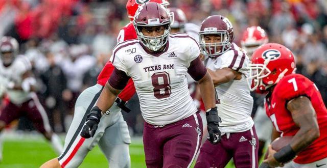 DeMarvin Leal, Texas A&M - preseason top prospects