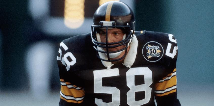 Steelers' legend Jack Lambert makes rare public appearance