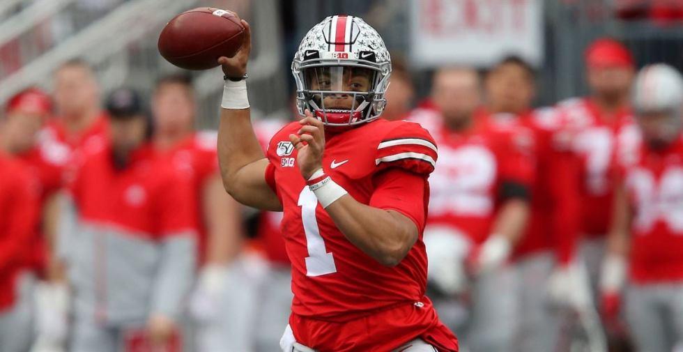 Justin Fields, Ohio State, Dual-Threat Quarterback