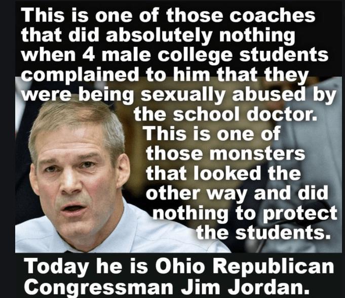 Jim Jordan is the biggest disgrace in OSU history