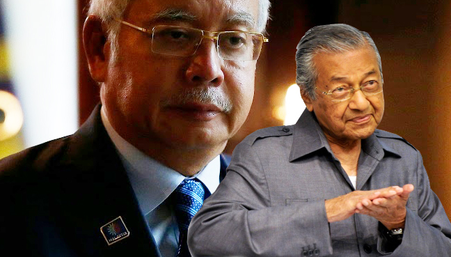 Image result for Mahathir or Najib?