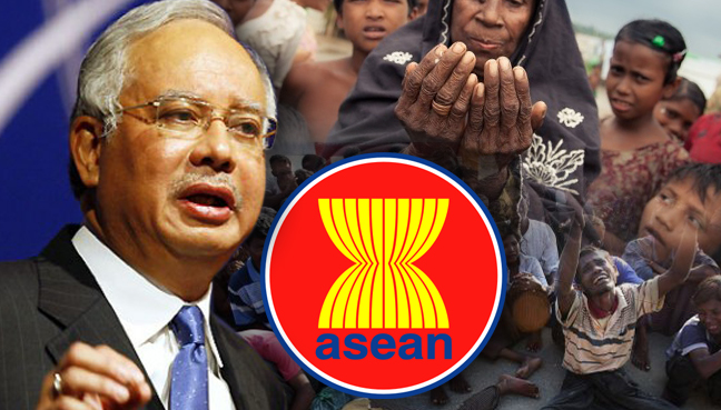 Image result for Najib and the Rohingya