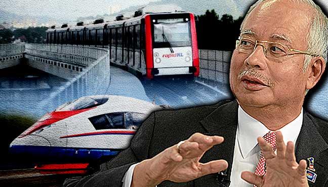Image result for Najib MRT
