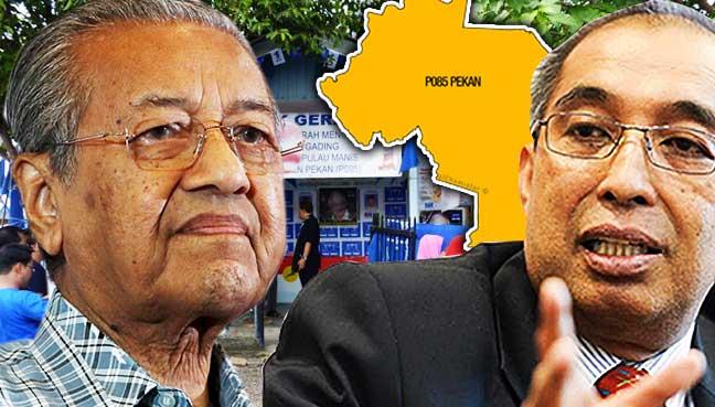 Mahathir,-Najib,-BN,-Umno,-PAS,-election,-cheat,-1999,-Pekan