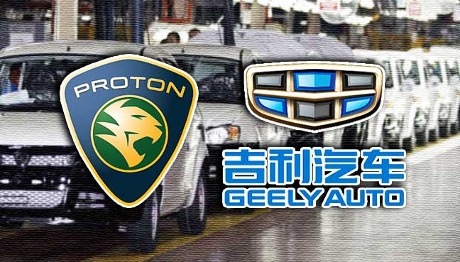 Image result for Geely and Malaysia's Proton