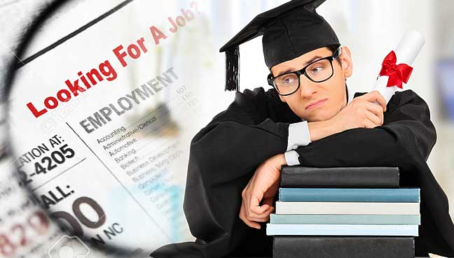 Image result for unemployed graduates