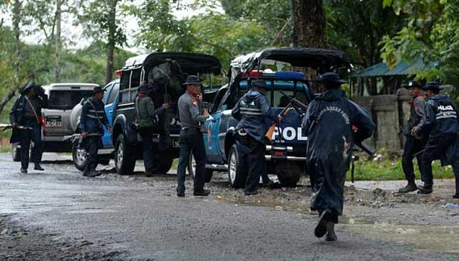 Image result for Fresh violence kills 32 in Myanmar's Rakhine State