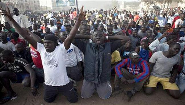 Resultado de imagen de Protests in Senegal april 2018 images