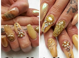 Newspaper Nails Art