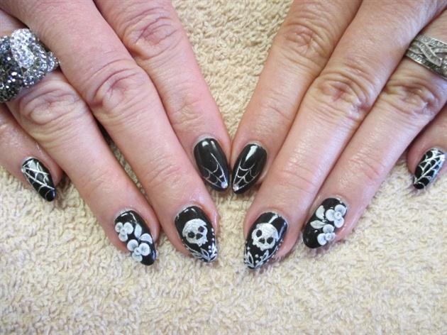 5 Freehand Nail Art Designs