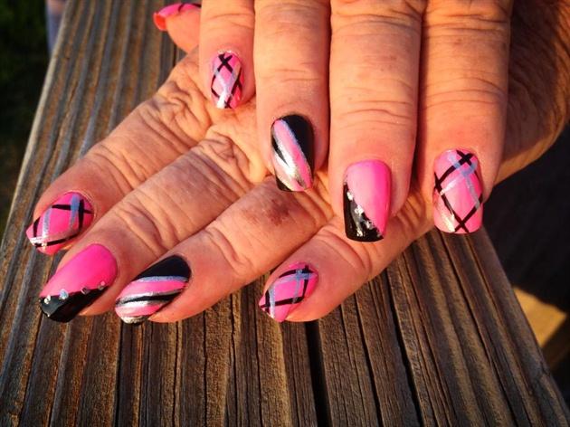 Pink Silver Black Designs