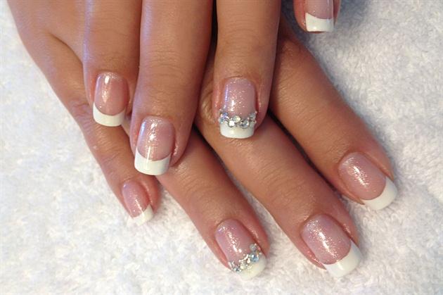 Bridal French Gel Nail