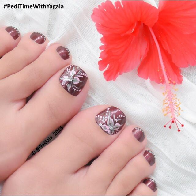 Cute Toe Nail Art 22