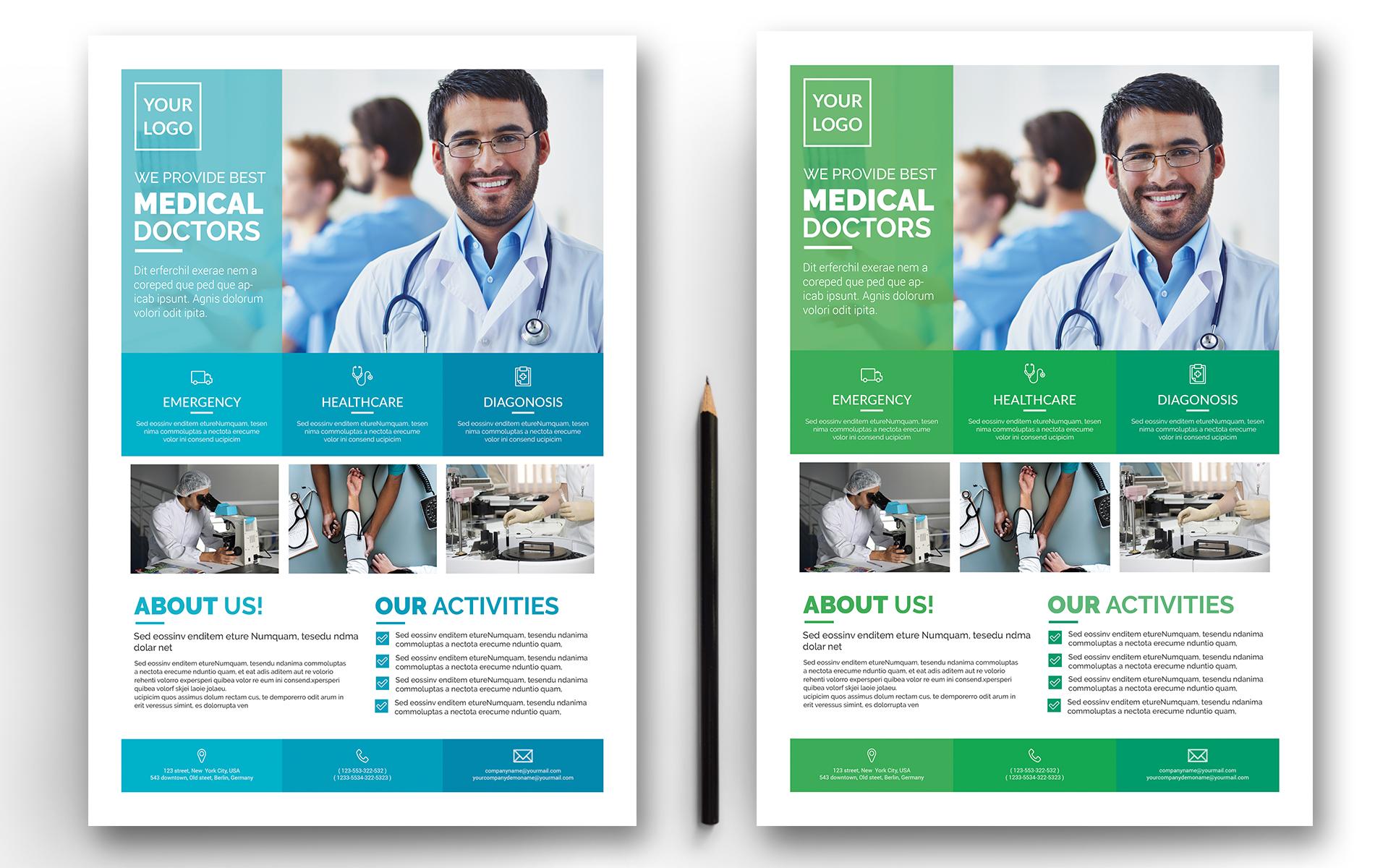 Alex - Indesign Medical Flyer - Template