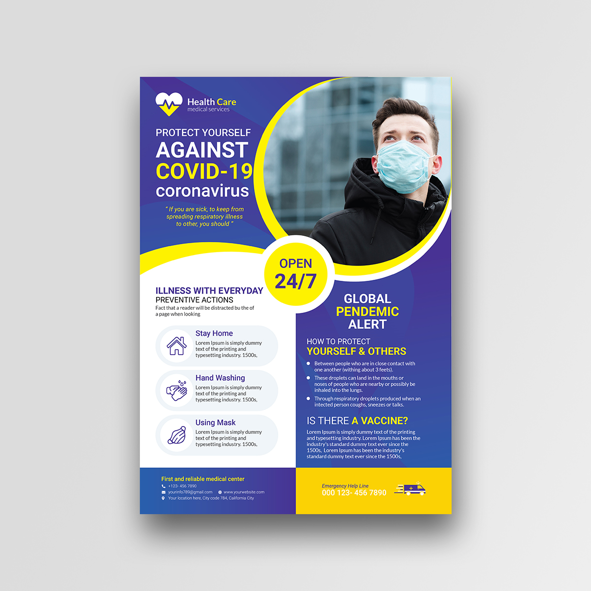 Medical Flyer Design - Corporate Identity Template