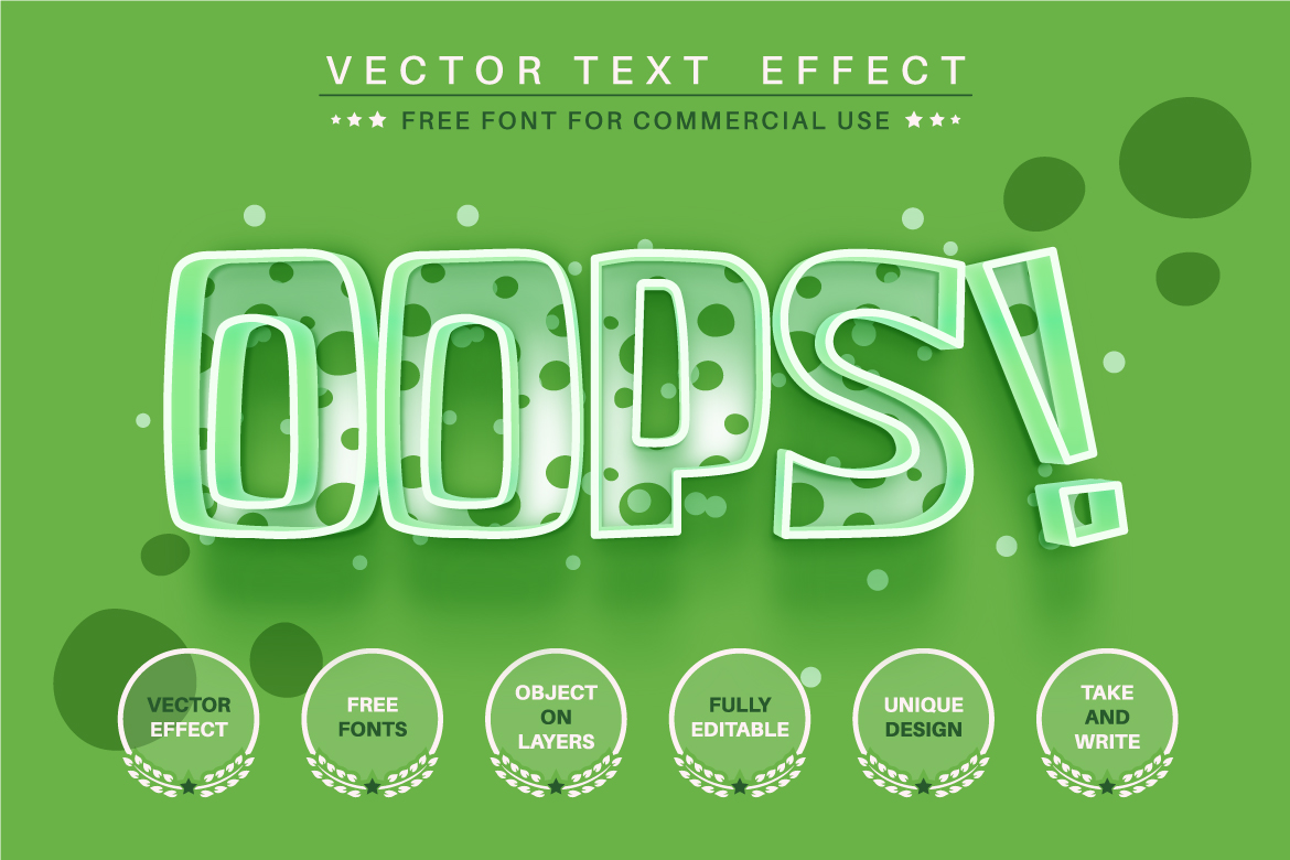 Kids Dino - Editable Text Effect, Font Style, Graphics Style Illustration
