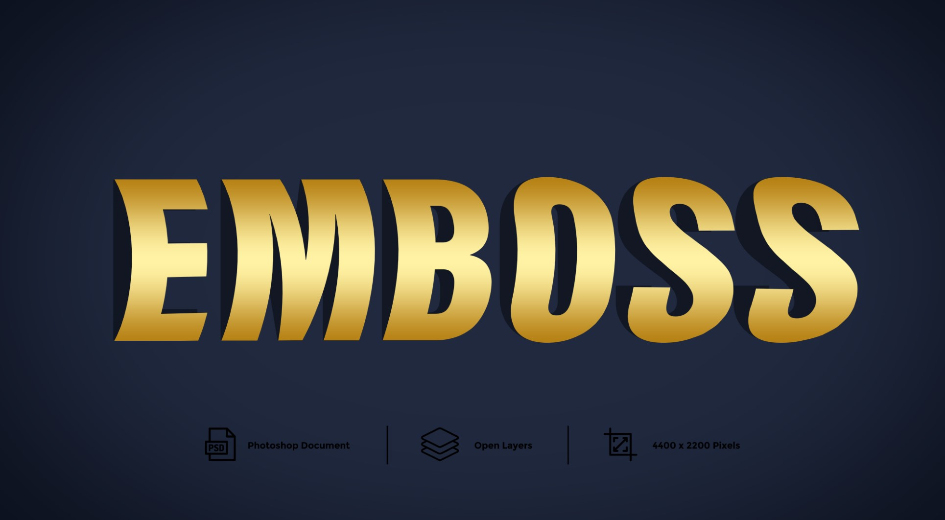 Emboss Text Effect And Layer Style