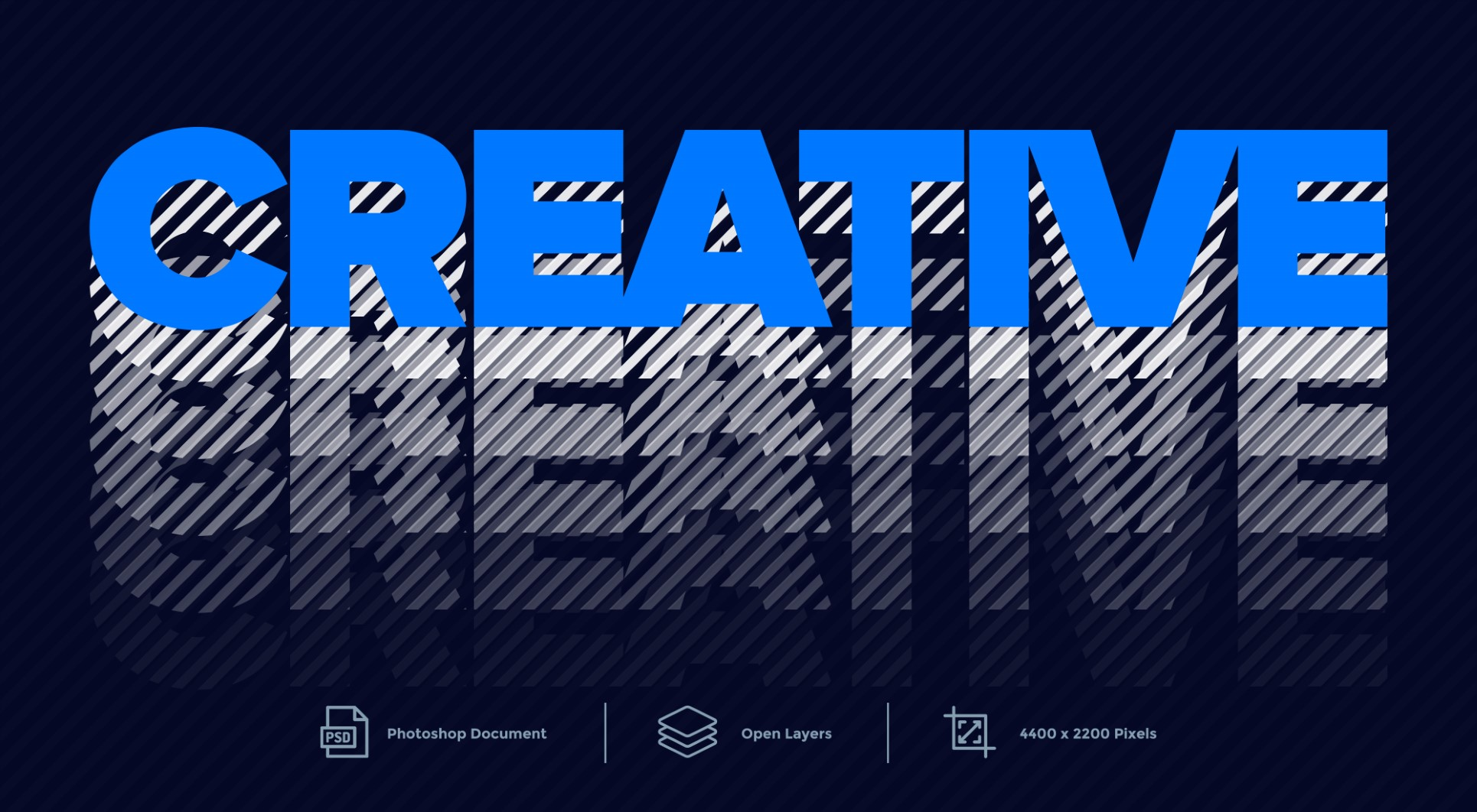 Creative Text Effect Layer Style