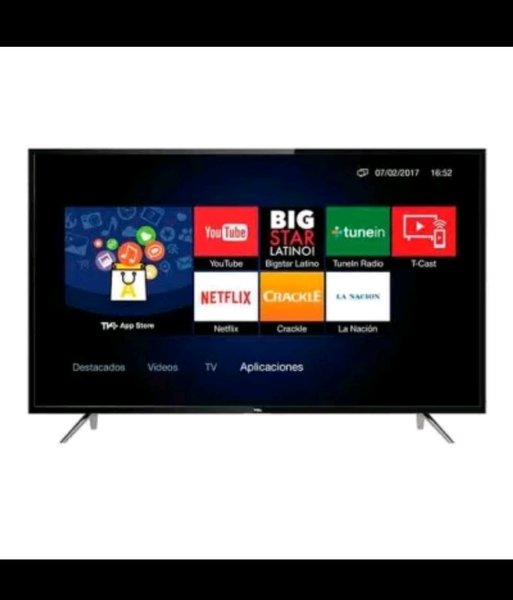 TCL 32 inch Smart LED Full HD TV Hitam model 32S62 with Free Antenna