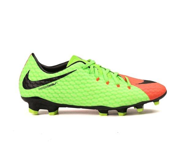 New Sepatu Bola Nike Hypervenom Phelon III FG Green Original Asli Murah