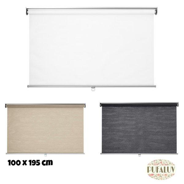 Gorden IKEA SKOGSKLOVER Tirai Gulung 100x195 cm