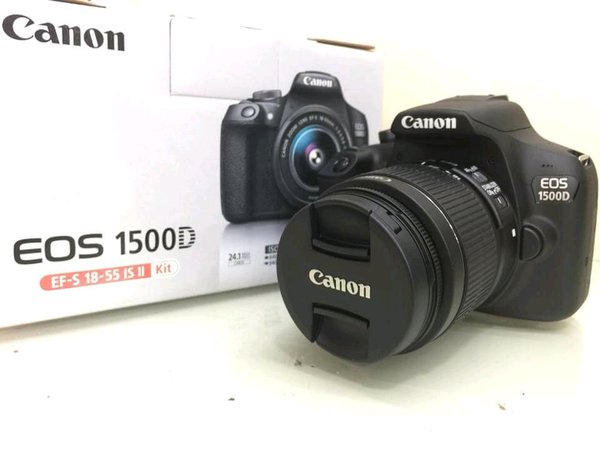 Canon EOS 1500D kit 18-55mm IS mark II bukan 1000D 1100D 1200D 1300D 550D 600D 650D 700D 750D Nikon D3000 D3100 D3200 D3300 D5000 D5100 D5200 D5300