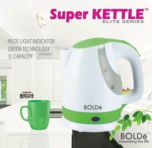 Botol Minum & Termos Bolde Super Kettle Elite Series Teko Pemanas Air Elektrik