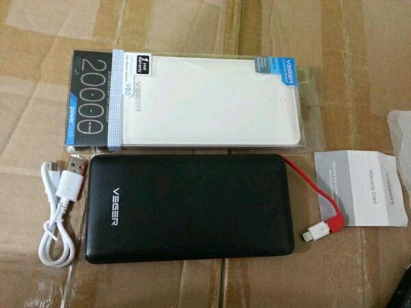 powerbank veger 20000 mah