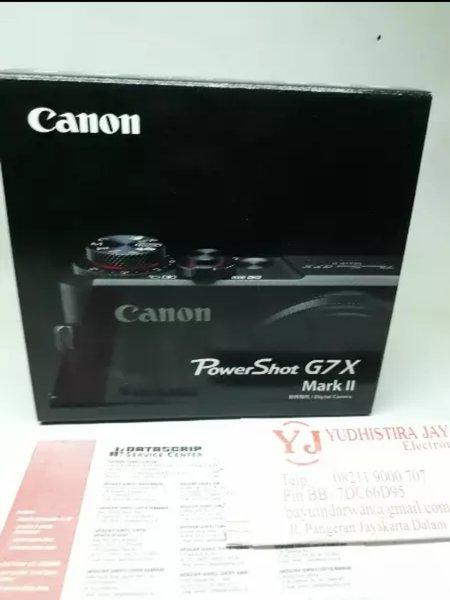 CANON Power Shot G7X MARK II kamera kompack
