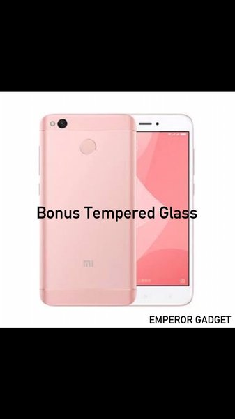 XIAOMI REDMI 4X PRIME ROSE RAM 3 ROM 32GB GLOBAL OFFICIAL SNAPDRAGON NEW