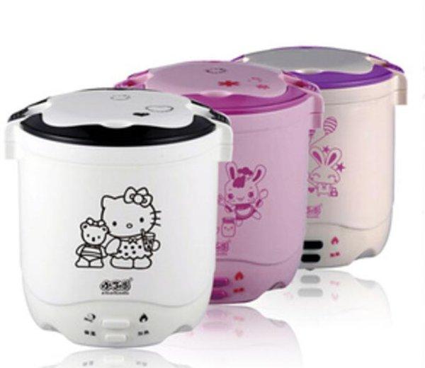 mini rice cooker hello kitty hk slow warmer hk 2 susun kity nasi bubur