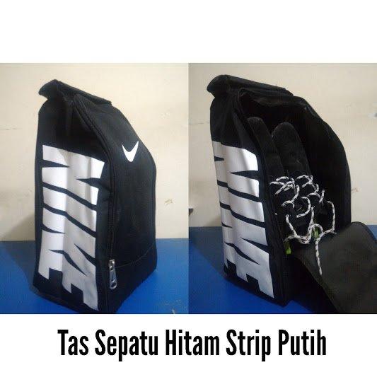 Tas Sepatu Nike Futsal Hitam Putih