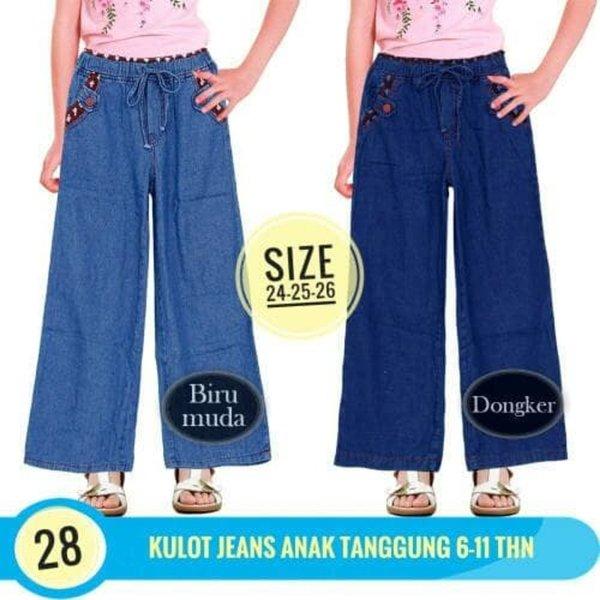 Sale Celana Panjang anak perempuan Celana Kulot Anak Jeans