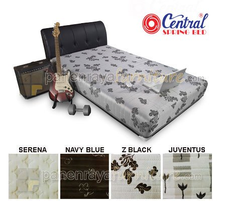 SPRING BED CENTRAL SPORTY SILVER X1 120