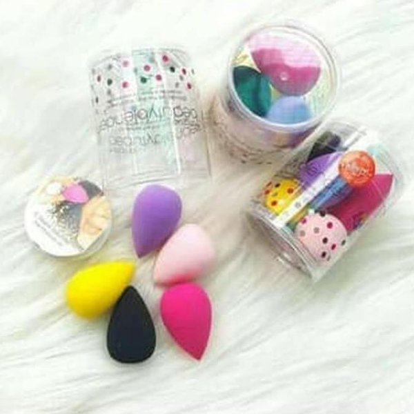 Termurah Sponge Mini Beauty Blender 5In1 Terlaris