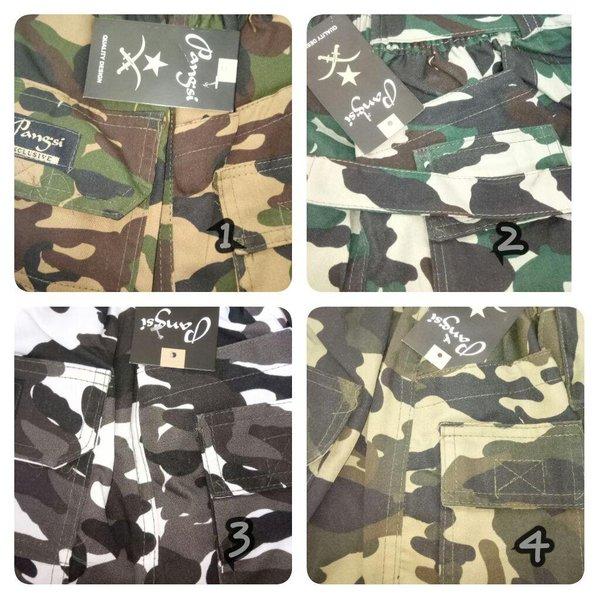 Celana sirwal pangsi army loreng jumbo