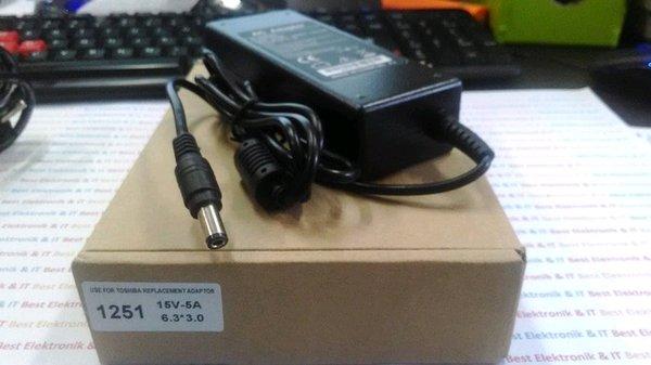 Adaptor Laptop Toshiba Portege 15V 5A Charger 1251