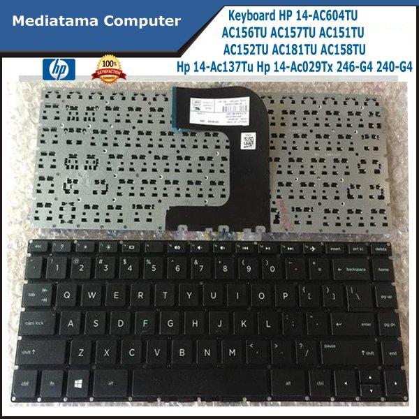 Keyboard HP Pavilion 14-AF HP 14-AC604TU AC156TU AC157TU AC15 14-AC137TU 14-AC029TX 246-G4 240-G4 AC152TU AC181TU AC158TU