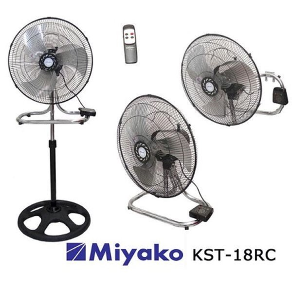 Kipas Angin Besi 3in1 Remote Miyako KST 18 RC  KST18RC