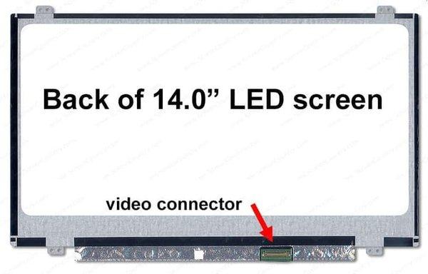 Spare Part Laptop LCD LED 14.0 Slim Acer Aspire E5-473 E5-471 E5-472G E5-474 E5-475