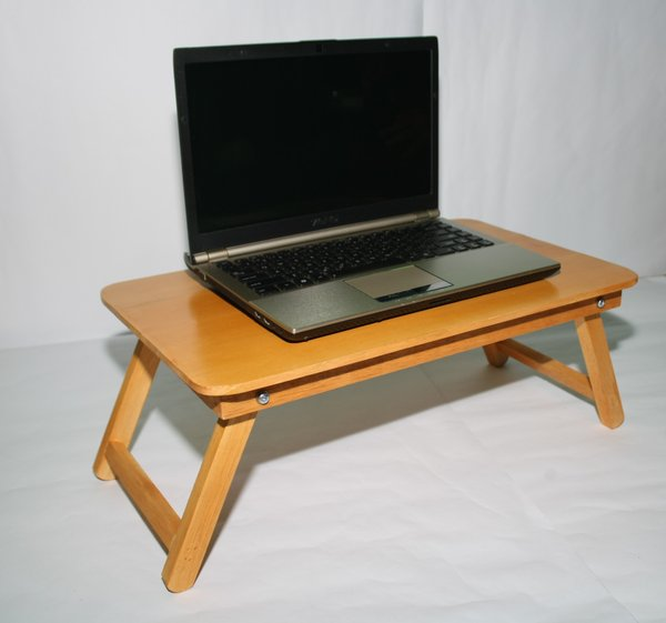 TERBARU meja laptop untuk belajar dari kayu