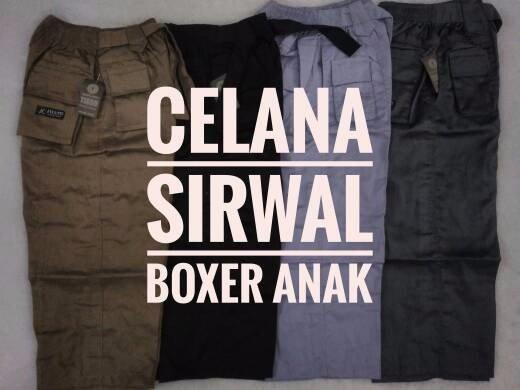 BEST SELLER celana sirwal boxer anak