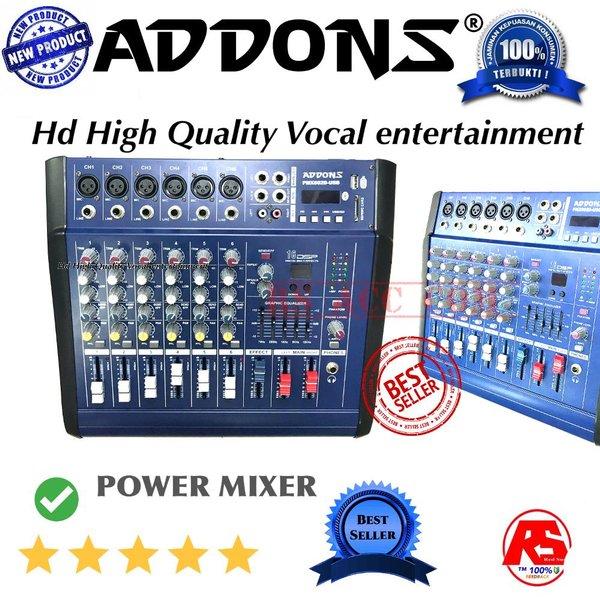 Harga Murah !!! Power Mixer Pmx 602d ( 6 Channel )