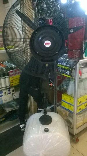 Kipas Angin Kabut  uap Misty Fan 30 60 Liter Vanco